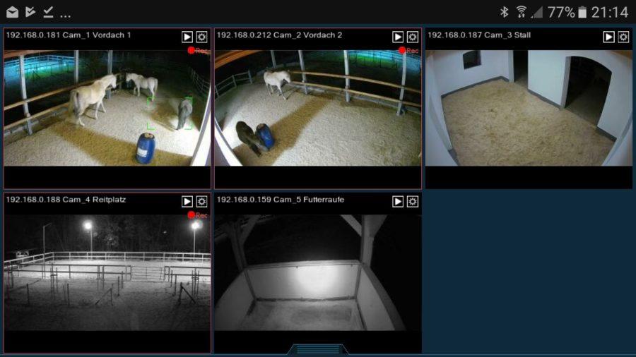 Spionage! Überall sind Kameras!